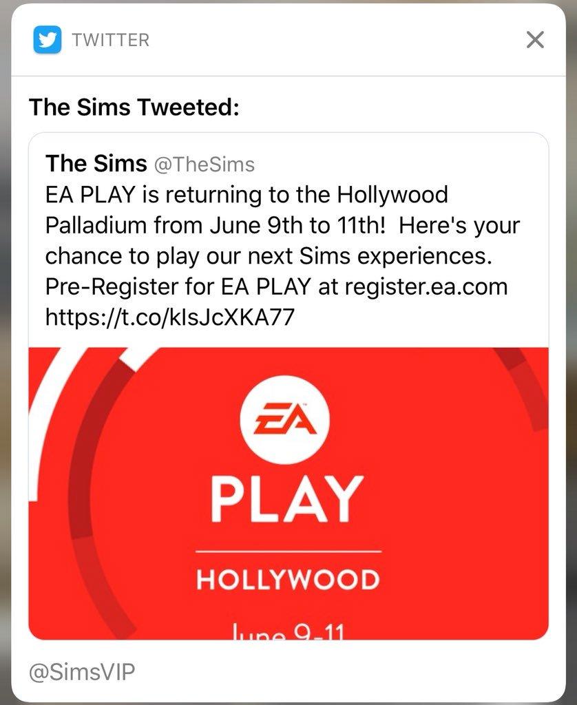 EA Anunciará Próximas Experiências para The Sims no EA Play