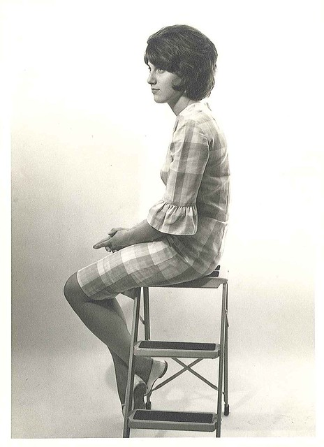 1962-Sherry Nill ladder pose