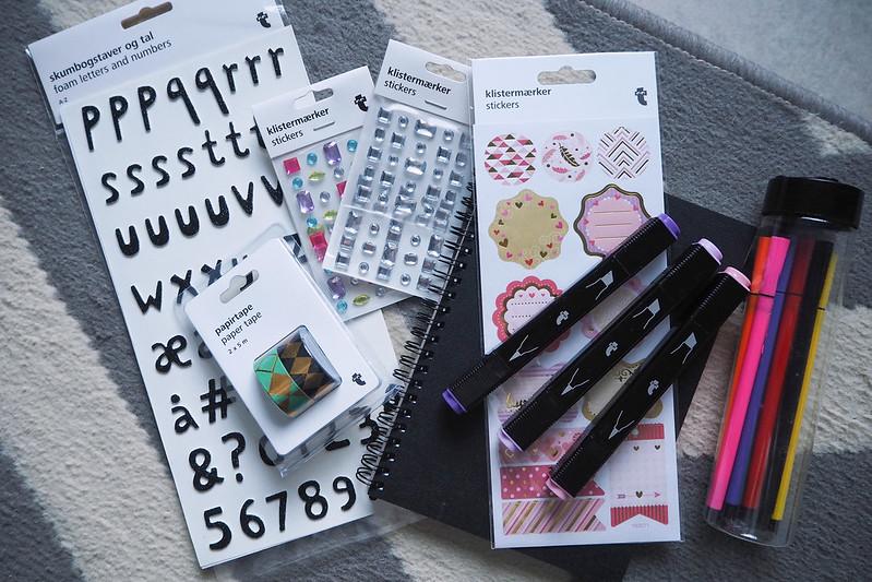 blogivihko bullet journal tyylillä 4