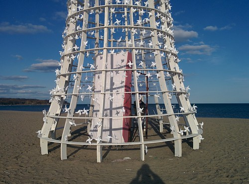Wind Station (3) #toronto #winterstations #beaches #woodbinebeach #windstation #publicart #latergram