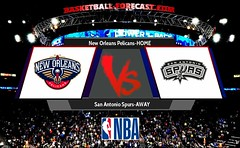 New Orleans Pelicans-San Antonio Spurs Apr 11 2018
