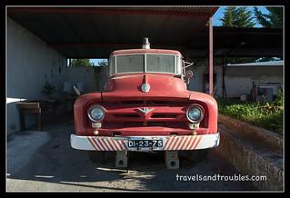 Ford brandweerauto