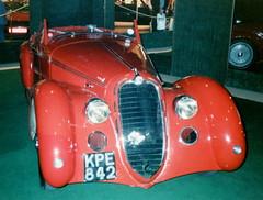 Alfa-Romeo 8c 2900 B Spider Touring (First registered 1946)