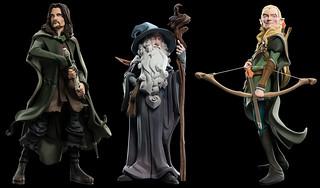 WETA Mini Epics 系列《魔戒》角色人偶第二波 Lord of the Rings Vinyl Figures Series 2