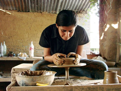 Andretta Pottery Studio & Craft Society, Himachal Pradesh. From 5 Incredible Places to Learn Pottery in India