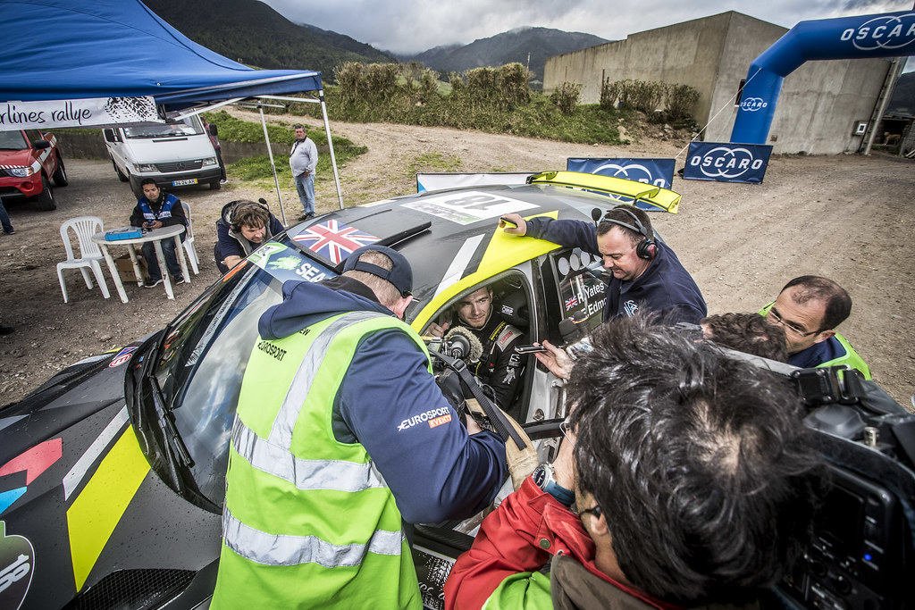 18 YATES Rhys ( gbr), SKODA FABIA R5, portrait during the 2018 European Rally Championship ERC Azores rally,  from March 22 to 24, at Ponta Delgada Portugal - Photo Gregory Lenormand / DPPI