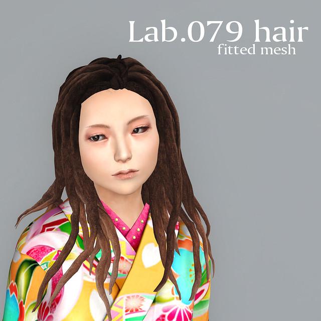 booN Lab.079 hair
