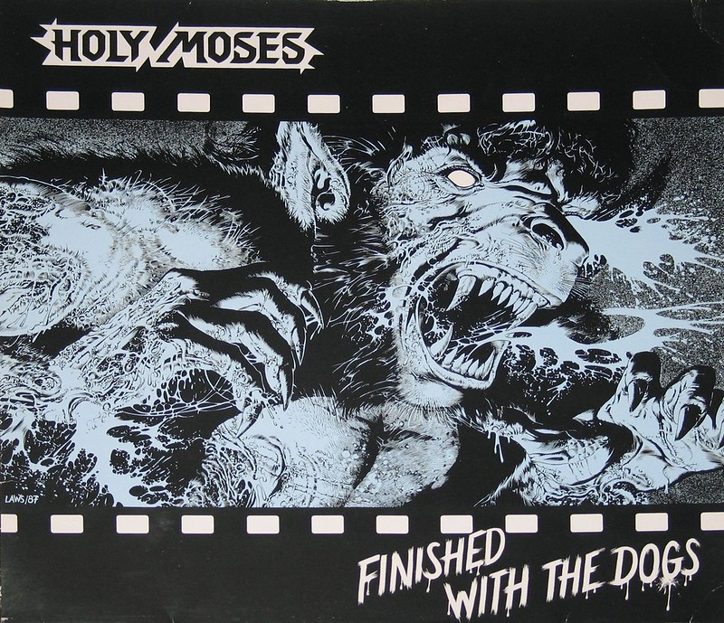 HOLY MOSES Finished With The Dogs