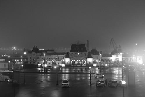 Vladivostok Station in early morning 15-04-2018 (1)