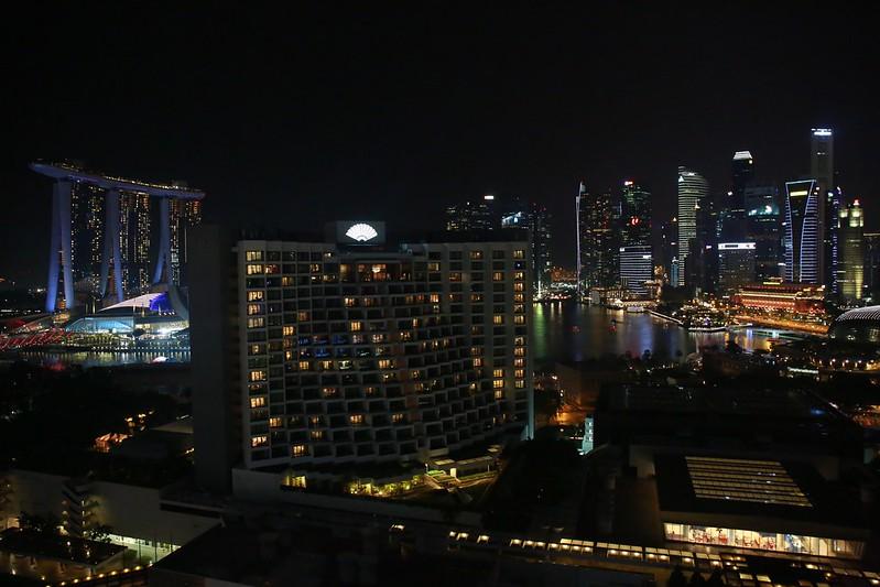 陽台望出去的夜景