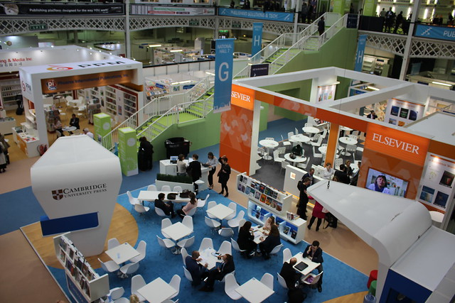 Elsevier & Cambridge University Press - London Book Fair 2018