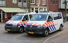 Dutch police Volkswagen Transporter's