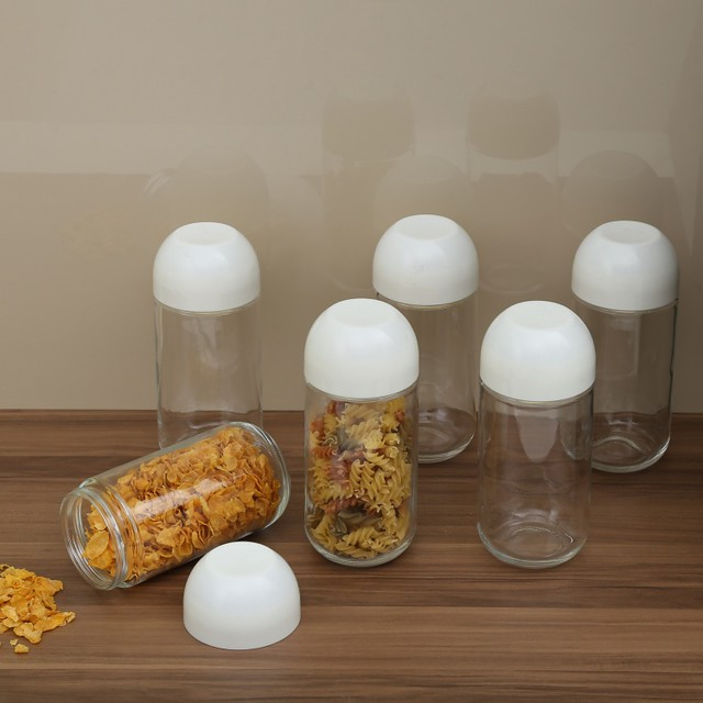 Glass jars from Home Centre