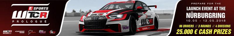 RaceRoomWTCR eSport championship Announced