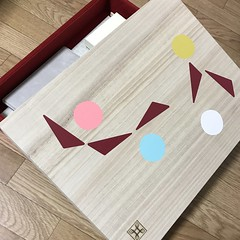 トランスイート四季島 飾り箱