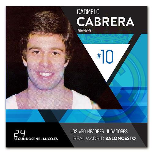#10 CARMELO CABRERA