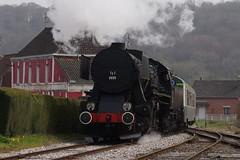 🚂 Train locomotive à vapeur 150 Ty2 6690 - Ligne touristique CFTVA ( France )