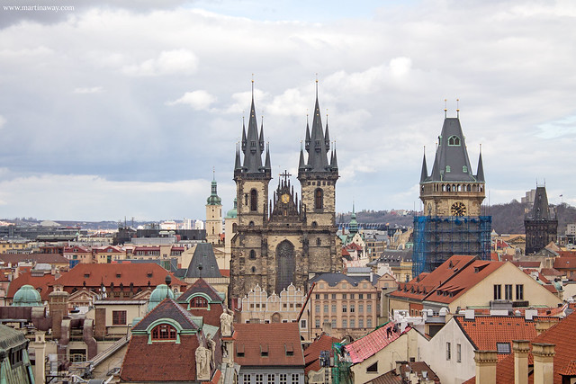 Praga vista dal Klementinum