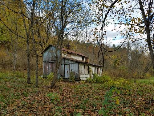 abandoned house near Indian Rock, Virginia