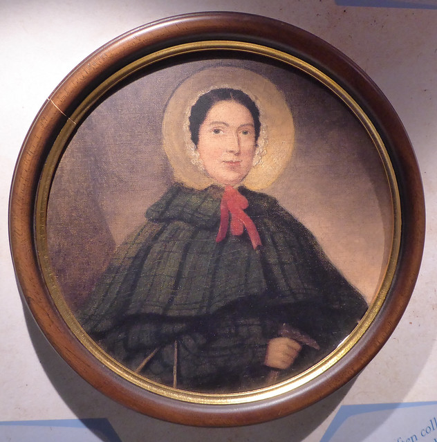 Mary Anning (from picture in Lyme Regis Museum)