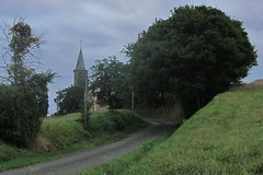 20120919 22 037 Jakobus Weg Kirche Turm Bäme