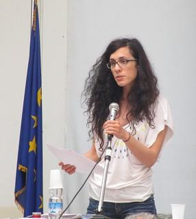 Il vicesindaco Lavinia Orlando