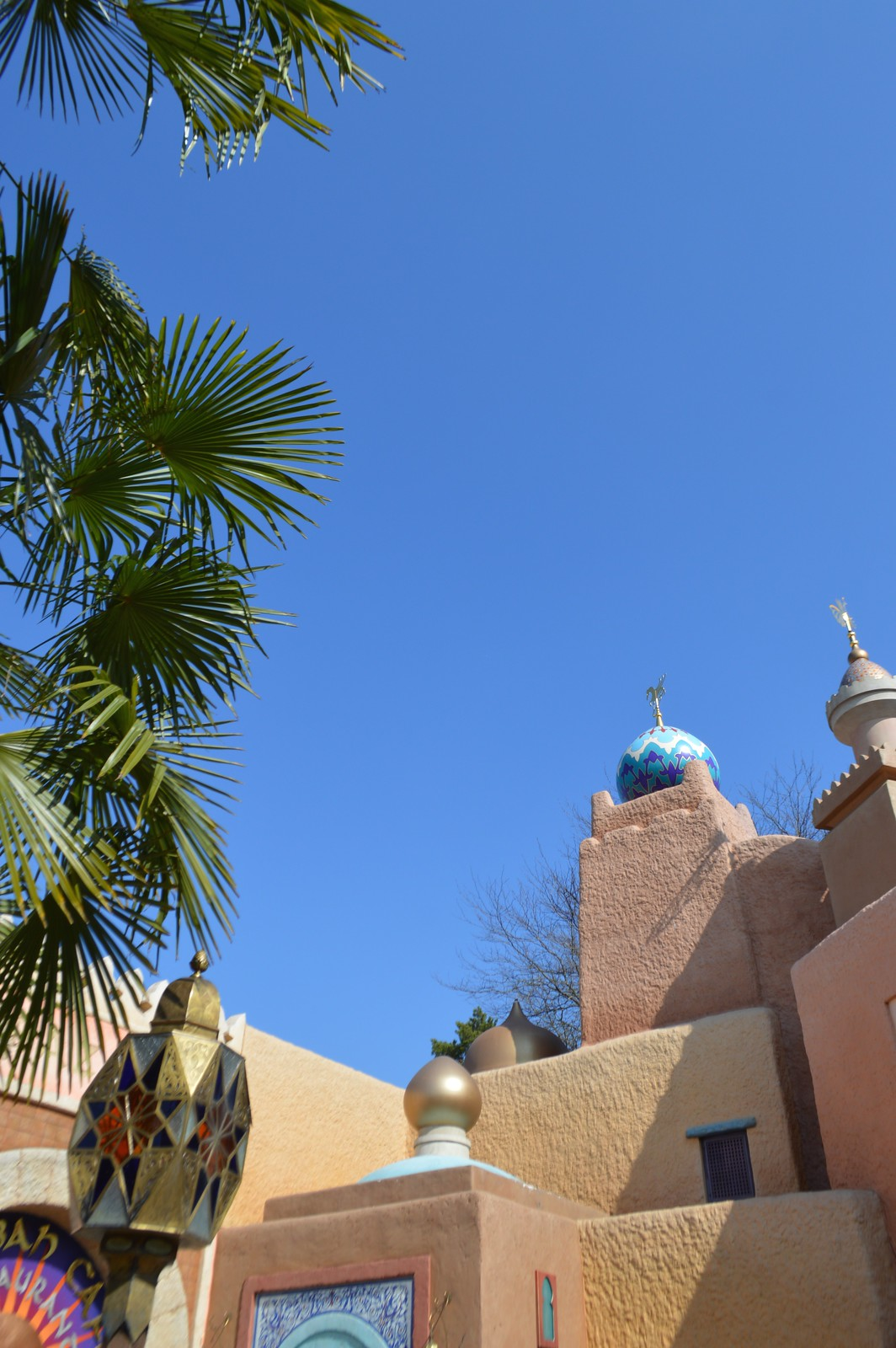 This is a picture of the Disneyland Paris Adventureland