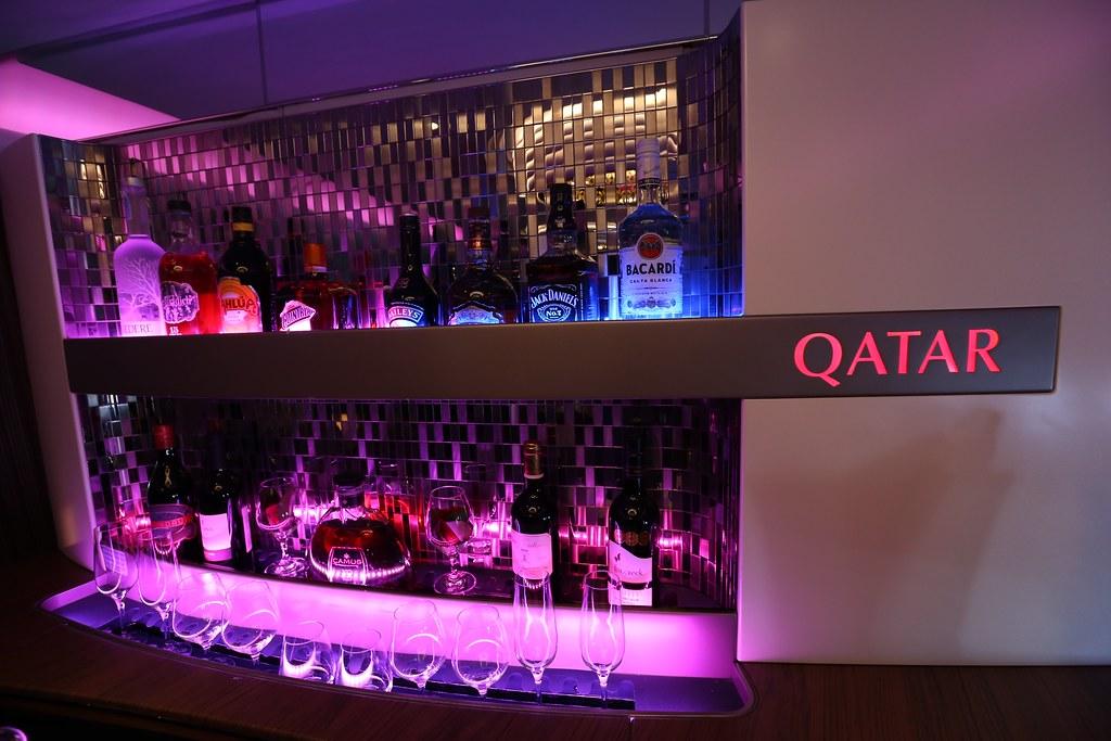Qatar A380 First Class lounge