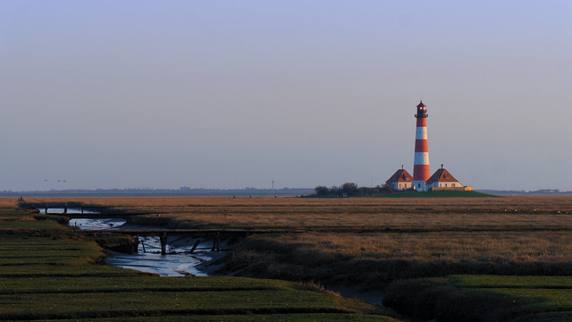 Leuchtturm in Westerheversand, Panasonic DMC-GX8, Lumix G Vario 14-140mm F3.5-5.6 Asph. Power OIS