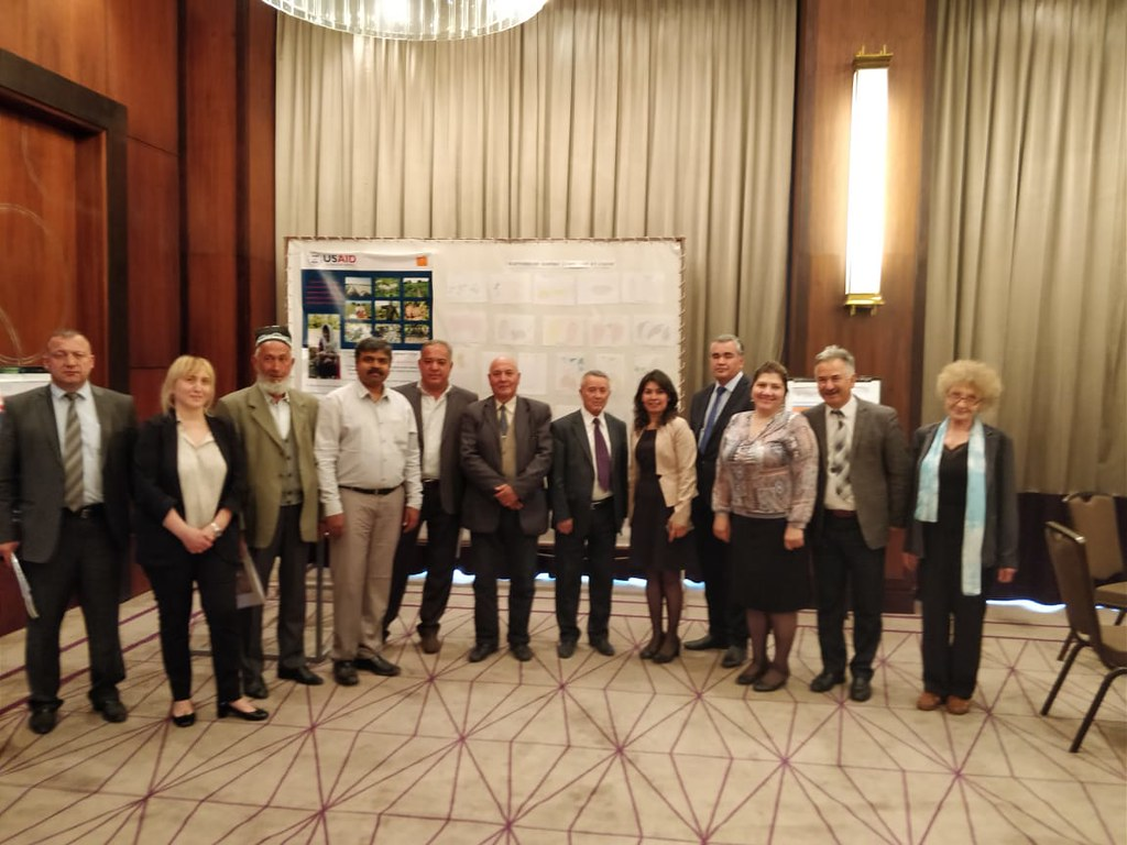 Workshop, Dushanbe April 12, 2018