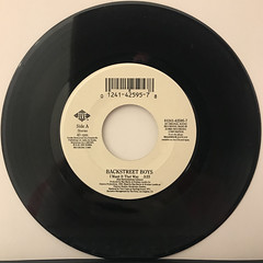 BACKSTREET BOYS:I WANT IT THAT WAY(RECORD SIDE-A)