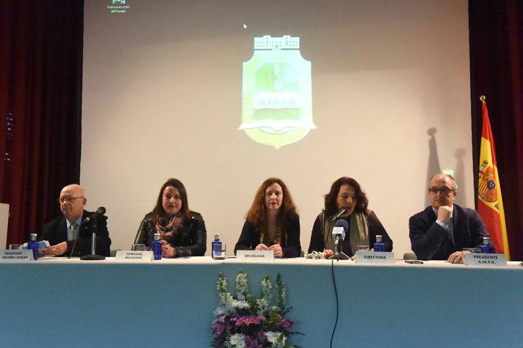 INSTITUTO DE ENSEÑANZA SECUNDARIA KURSAAL ACTO CON MOTIVO DEL 75 ANIVERSARIO DEL CENTRO3