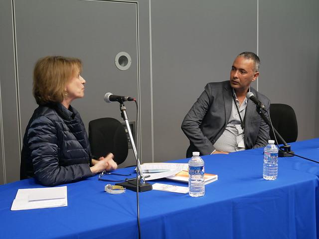 Kamel Daoud était l'invité d'honneur du Salon du livre du journalisme