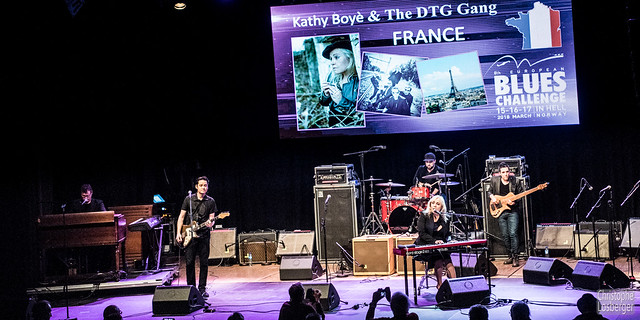 Kathy Boyé & The DTG Gang @ EBC 2018