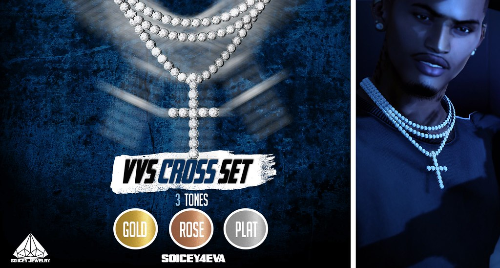 💎SOICEY4EVA💎 💦VVS Cross Set💦 Now Available! - TeleportHub.com Live!