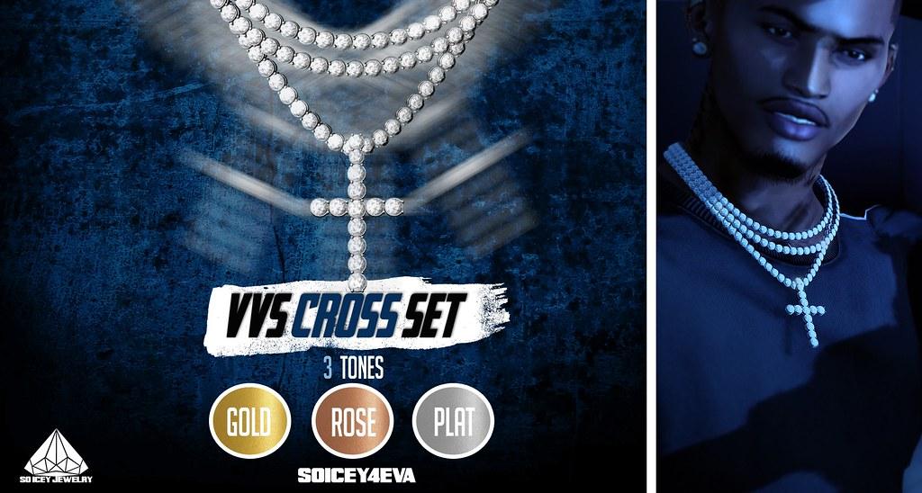 ?SOICEY4EVA? ?VVS Cross Set? Now Available!