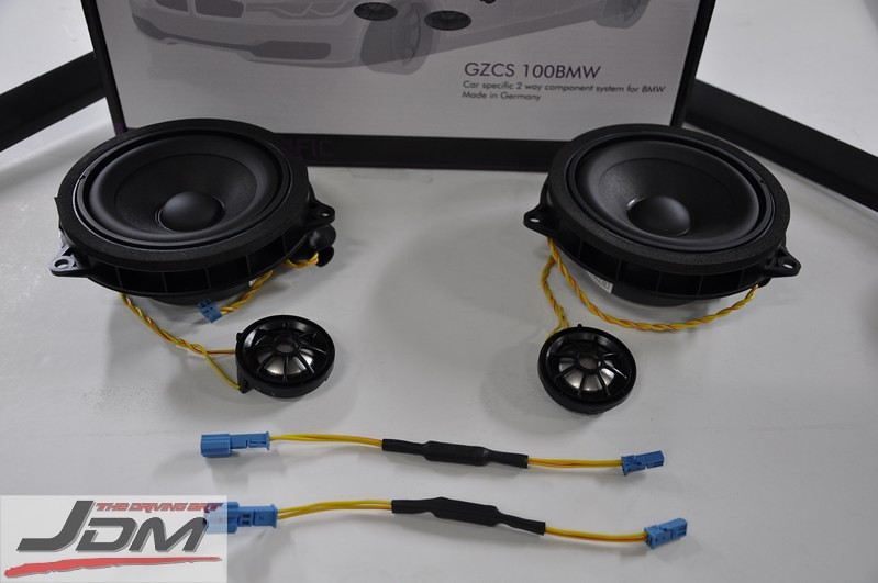 Ground Zero BMW 1-1 Replacement Speakers & Woofer Made In