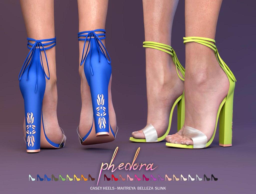 "Phedora NEW MAINSTORE RELEASE- ""Casey"" heels - TeleportHub.com Live!"