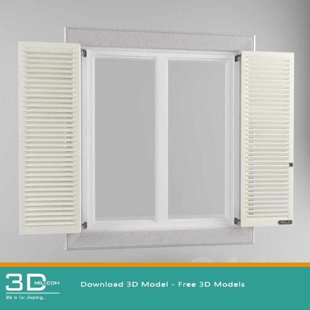 80 Window 3dsmax Model Free Download 3d Mili Download