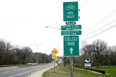 Bike Route to College Park