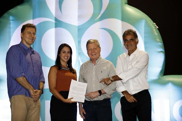 05.04.18 Assinatura do termo de cooperação seja digital no estúdio 5