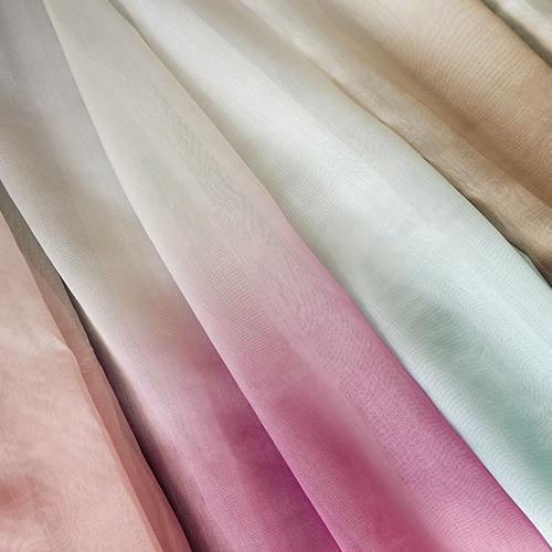 漸層紗 無接縫窗紗布 舞蹈禮服 水袖舞衣 展覽場裝飾佈置 DB1290021