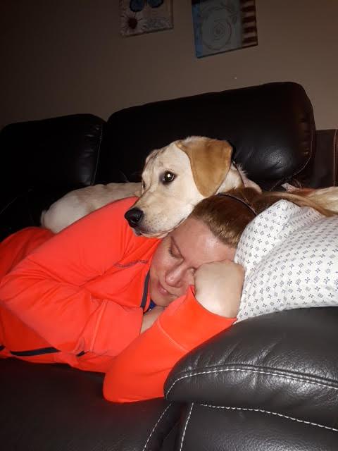 Duke with Jen