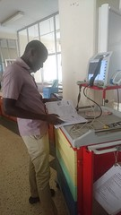 Troubleshooting with the instruction manual - Mbarara