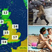 Weather UK: Warmer than Greece as chill is banished by spring sun