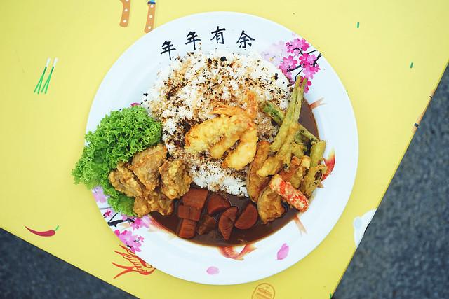 Crispy Fryday Mega Japanese Rice Platter