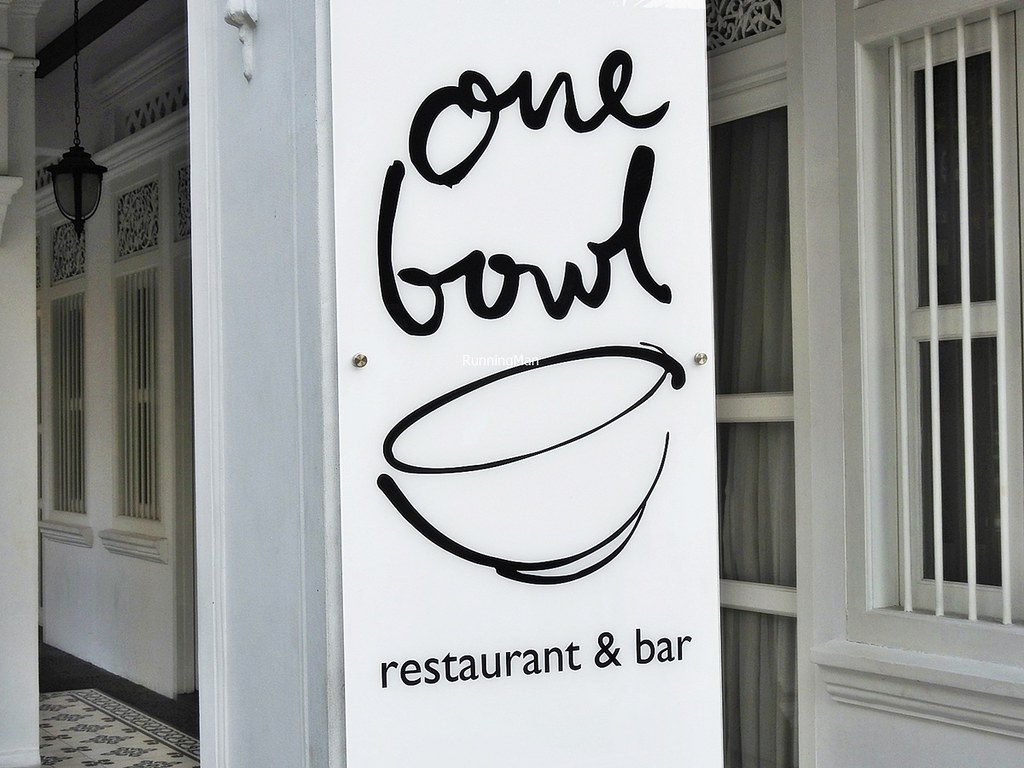 One Bowl Restaurant & Bar Signage