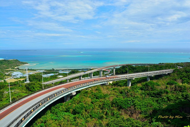 NIRAIKANAI橋(ニライカナイ橋)展望台