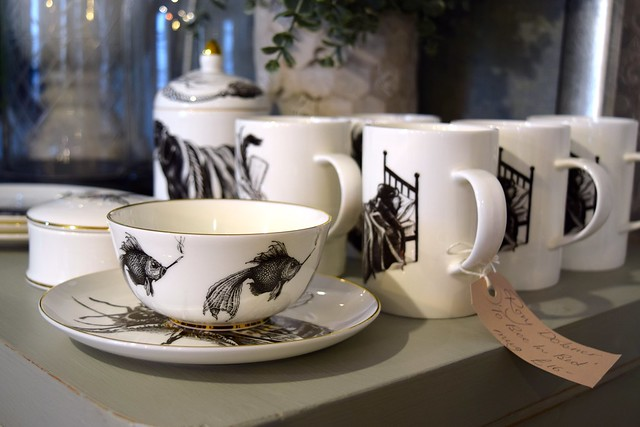 Black and White China at Queen Bee Home, Canterbury