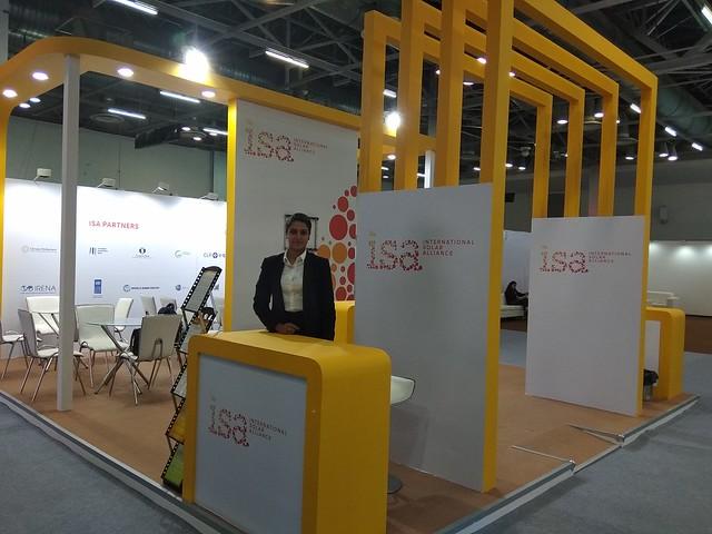ISA Pavilion at ELECRAMA 2018